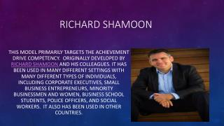 Richard shamoon Official