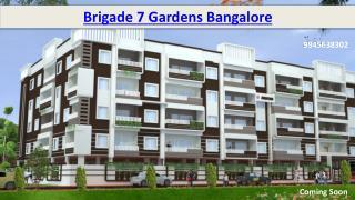 Brigade 7 Gardens Bangalore