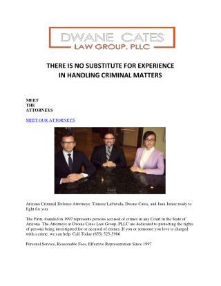 Robbery defense lawyer phoenix