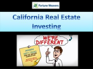 California Real Estate Investing