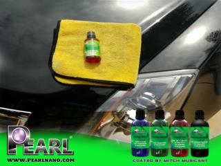 Car surface protection with Pearl Nano Coatings.