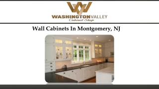 Wall Cabinets In Montgomery, NJ