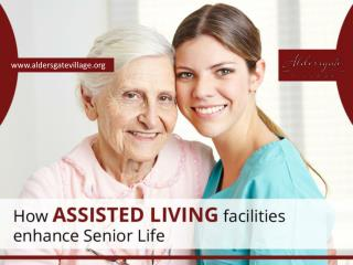 Advantages of Senior Living Communities