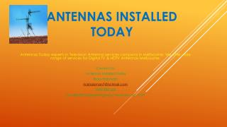 Antenna Today