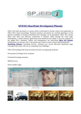 SPJEDI-SharePoint Development Phoenix