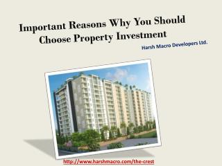 Important Reasons Why You Should Choose Property Investment