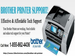 1-855-662-4436 Brother Oki printer tech support number