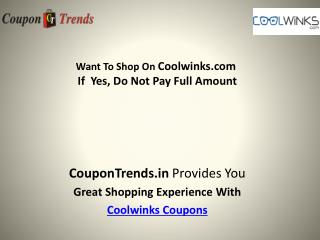 CoolWinks Coupons