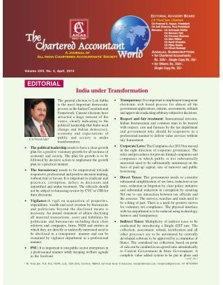 India under Transformation