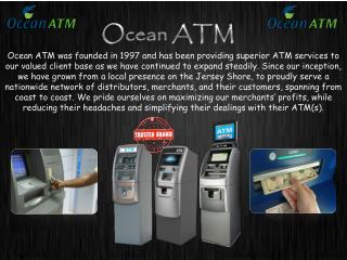 ATM Machines for Sale by Ocean ATM