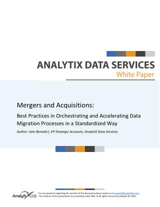 Merger and Acquisition Integration