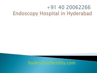 Endoscopy Hospital in Hyderabad