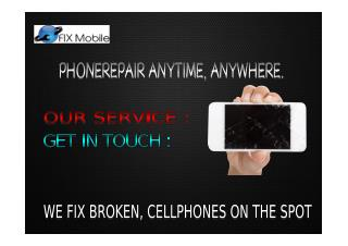 fix mobile Repair
