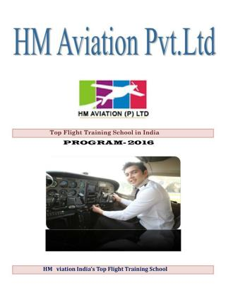 HM Aviation India's Top Flight Training School