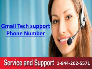 Gmail Tech support contact number 1-844-202-5571