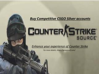 Buy CSGO Silver Accounts