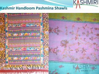 Kashmir Handloom Pashmina Shawls