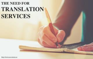 The Benefits of Translation Services