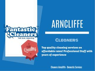 Domestic services provider in Arncliffe, Sydney