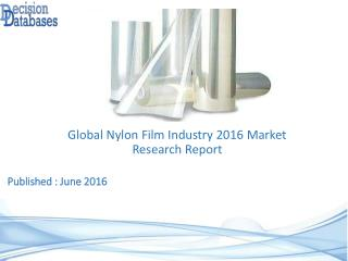 Global Nylon Film Industry Share and 2021 Forecasts Analysis