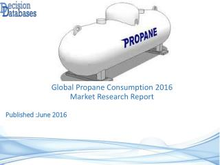 Propane Consumption Market Report - Worldwide Industry Analysis