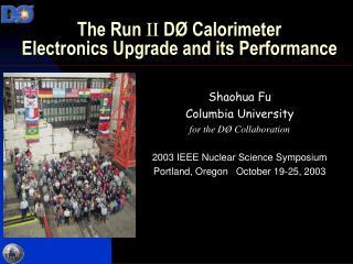 The Run II D  Calorimeter Electronics Upgrade and its Performance