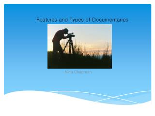 Types of Documentaries