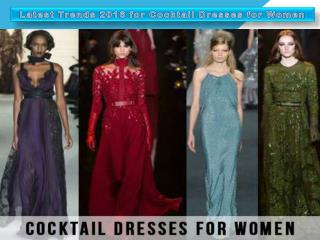 Latest Trends 2016 for Cocktail Dresses for Women