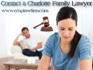 Contact a Charlotte Family Lawyer