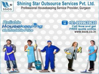 Professional housekeeping service provider gurgaon