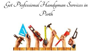 Get Professional Handyman Services in Perth