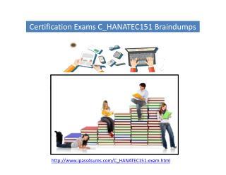 C_HANATEC151 SAP Certified Technology