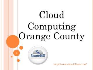 Cloud Computing Orange County
