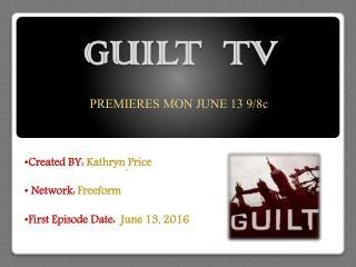 Guilt TV