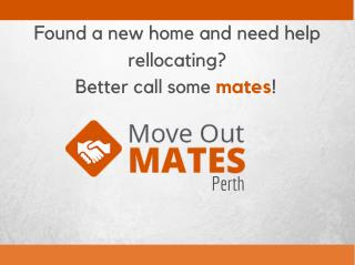 Move Out Mates Perth