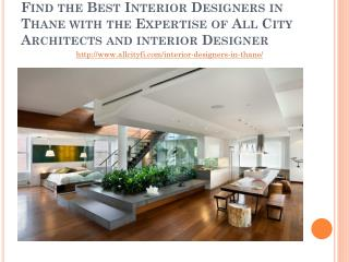 Top 5 Interior Designers in Thane - All City Interior Designers�