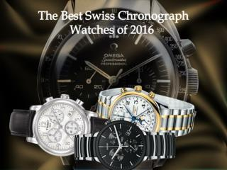 The Best Swiss Chronograph Watches of 2016