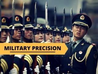 Military precision