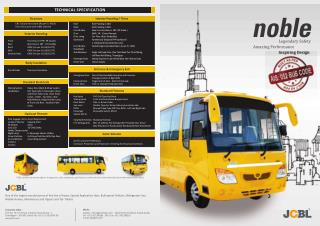 Noble: JCBL manufactured School bus