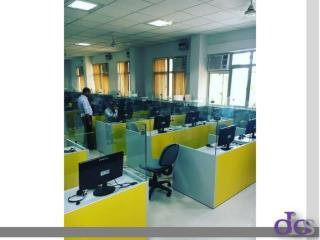 Classic Interior Design of Office Workstation