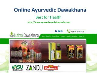 Ayurvedic Medicines at Luthra Dawakhana
