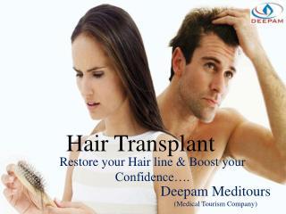 Hair transplant - Restore your Hair line