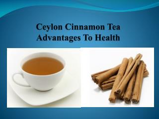 Buy 100% Pure Ceylon Cinnamon Tea Online