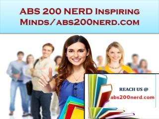 ABS 200 NERD Real Success / abs200nerd.com