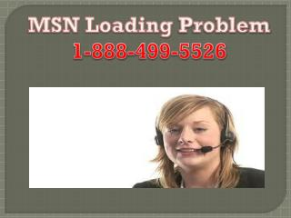 MSN 1-888-499-5526 not Loading new Emails