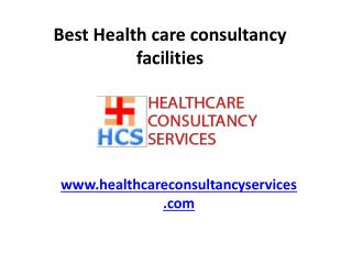 Best Health care consultancy facilities