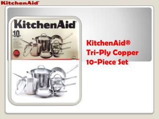 KitchenAid® Copper Cookware Indonesia