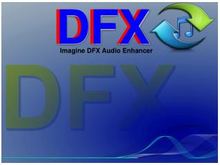 Download and register DFX audio enhancer