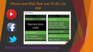 iPhone and iPad Task and To-Do List App