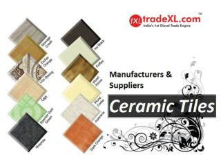 Ceramic Tiles Manufacturers, Ceramic Tile Suppliers & Exporters | TradeXL